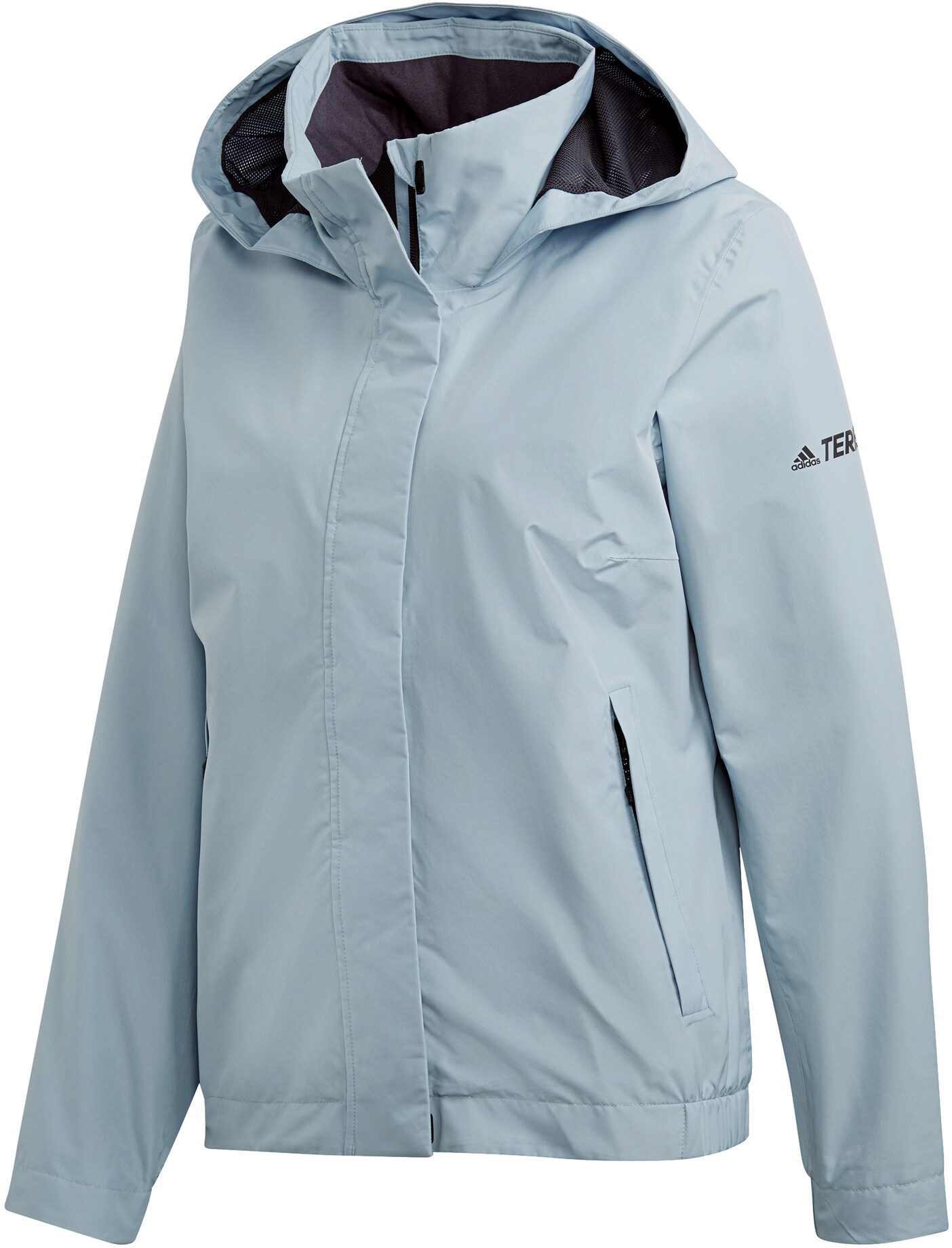 d6188b2f1b0 adidas TERREX AX Jas Dames blauw l Online outdoor shop Campz.nl